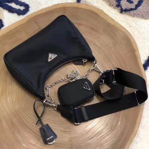 Mode couleur Noir Sac pour hommes et femmes en gros Nouveaux produits Croix-corps sac en nylon avec piécette Wallet célèbre populaire