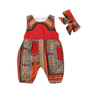 0-5Y Infant ребёнки Дети Romper Африканских комбинезон Одежда малышей Детские Outfit костюм для подвижных игр