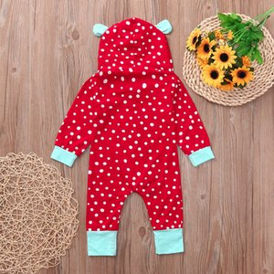 MUQGEW baby girl clothes newborn clothes long sleeve Romper Dot Jumpsuit Cloth baby boy christmas outfit ajax 2019 2019 kids #y2