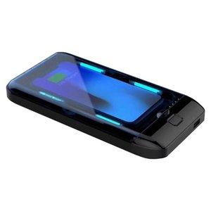 Tragbare UV-Sterilisator-Kasten-Kasten Desinfektion Beschichtungsanlage für Mask Phone Uhren Gläser Unterwäsche Zahnbürste usb-Gebühr LJJA3983