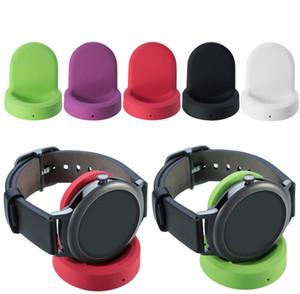 Caricatore rapido senza fili portatile Dock di ricarica Stand con cavo di ricarica veloce USB per LG Watch Style W270 Smart Watch