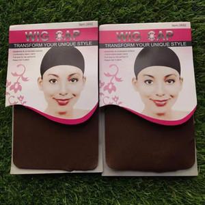 Protezione poco costosa promozionale Multi-Color di nylon Calzini alta elastico traspirante Hairnet Parrucca speciale Mesh (Wig Cap)