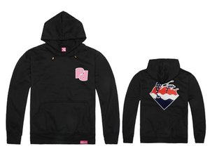 Marke Hip Hop Männer und Frauen Pink Dolphin Pullover Hedging Sport Thick Cotton Hoodie Pink Dolphin Men Sweatshirts Freies Verschiffen