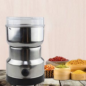 150W 300ml Elektrikli Kahve Öğütücü Maker Fasulye Değirmen Otlar NutsFor Ev Mutfak Ofis Paslanmaz Çelik 220V Evde Kullanım Kahve Makinesi