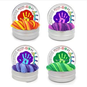Vendita calda Slime fai da te magnetica polimero mastice di sbiadimento del magnete di gomma plastilina Fango regalo magico mano rimbalzo Giocattoli bambini