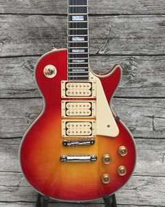 модернизировал качество электрогитары Эйс Фрейли старинной пользовательской гитара