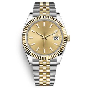 Herrenuhr 41mm hohe Qualität Saphir Uhr automatische mechanische Datum Geschäftsleute 316L Edelstahl wasserdicht Tauchuhr leuchtenden