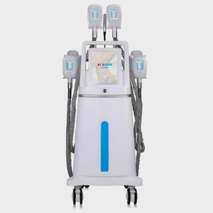 4 Cryo Handle Cryolipolysis corpo emagrecimento gordura máquina de congelação do vácuo crioterapia Fat Congelamento cintura emagrecimento Início Cryolipolysis