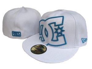 Marca de Qualidade Superior dos homens baratos Moda chapéu de aba embroiered logotipo fãs de futebol Chapéus tamanho LA Hip Hop Rua completa fechado Chapeu bra