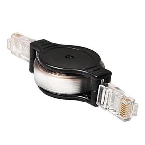 200PCS 5FT / 1.5M قابل للسحب كابل إيثرنت LAN RJ45 التصحيح Cat5 شبكة الكابل
