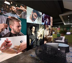 Салон красоты обои 3D настенные обои 3 d гостиная Европейский парикмахерская инструмент салон парикмахерская обои фреска
