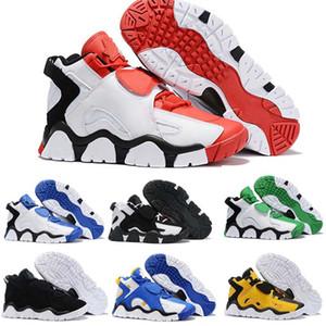 Chaussures de basket-ball pour hommes Barrage Mid QS Noir HyperGrape Baskets Baskets de Sport Taille 40-46