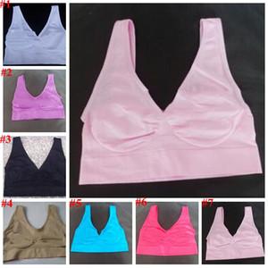 Ahh Bras Mulheres Yoga Forma Sports Bras aptidão Seamless pulôver Bra Corpo Microfibra Correndo Bra Sexy Gym Bras Vest Underwear CYL-B5978