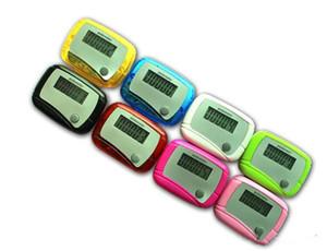 Bolso LCD Pedômetro Mini Única Função Pedômetro Contador de Passos LCD Run Etapa Pedômetro Digital Contador de Passos com Pacote