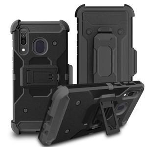 Para LG K51 K31 Stylo6 5 K40 LV5 V20 G6 à prova de choque Holster Proteções Clipe 4 camadas Kickstand resistente armadura Phone Case Capa