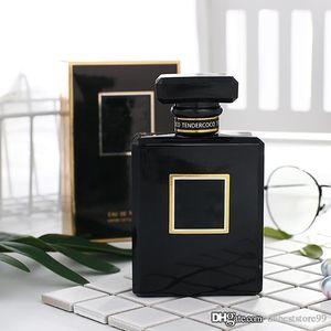 Siyah Coco Bayan Siyah Şişe Lady EDP Parfüm 100ML Kalıcı Parfüm Charm Sonsuz Oryantal Parfüm Sprey Parfüm Ücretsiz Posta