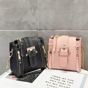 Cheap wholesale Small square bag Women handbags car line and women bags Retro Inclined shoulder bag Mobile phone bag