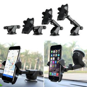 360도 Rotatable 강한 흡입 휴대 전화 스탠드 홀더 지원 데스크탑 자동차 차량 조절 가능한 전화 스탠드 홀더