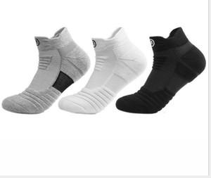 Elite Basketballsocken Kurze Bootssocken für Männer Verdicktes Handtuch Bottom Sweat Breathing Outdoor Lauftuch Sportsocken