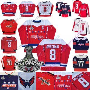 Washington Capitals Alex Ovechkin Jersey Nicklas Backstrom Braden Holtby T.J. Oshie Tom Wilson Stadium Series 2018 Stanley Cup