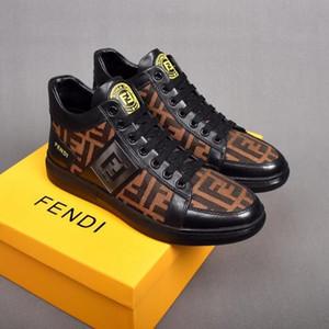 2020 Fendi men shoes últimas mujeres más nuevos hombres del diseñador de zapatos de lujo Speed Trainer roja y plana Moda Calcetines Botas zapatillas de deporte Formadores Runner