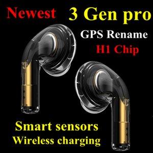 2020 Selling Valid serial number AP3 pro In-Ear Earphones Wireless Charging Generation 3 Sensor rename h1 chip Bluetooth Headphones pop up