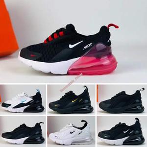 Nike air max 270 Noel Bebek Hava Çocuklar koşu ayakkabıları Tozlu Kaktüs açık yürüyor atletik spor erkek kız Çocuk sneakers boyut 28-35