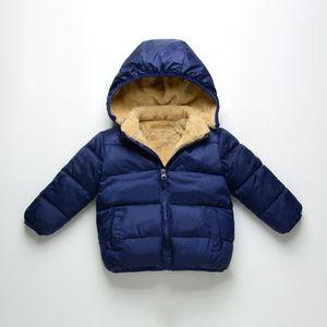 Children Jacket for Girls Winter Wool Warm New Overcoat Fashion Girls Clothes Kids Outerwear Autumn Girls Coat 4 6 8 10 12 13