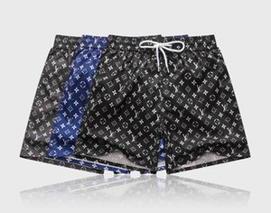 Wholesale summer embroidery board shorts men's summer luxury beach shorts pants high quality letters surfing life men's swimming