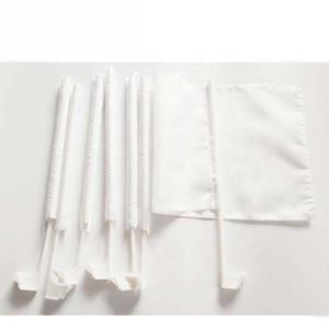 Beyaz Boş Araç bayrak Sublime bayrağı 100D Polyester 43cm plastik kutup ücretsiz kargo ile Yüksek Kaliteli araba pencere bayrakları yazdırın 12x18inches