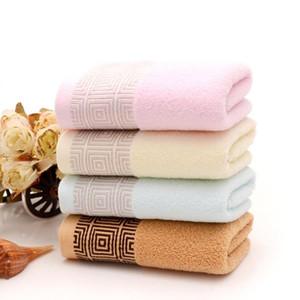 Toalla de algodón suave Equipo de Limpieza Baño Absorción de agua paño de toalla de baño Rags Hotel Textiles para el hogar cabello seco