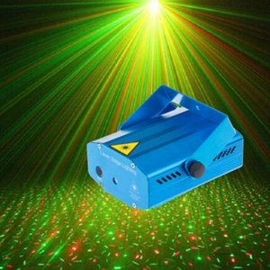 Mini LED Laser Projector Christmas Decorations Laser Disco Light Laser Light Dj Voice-activated DJ Disco Xmas Party Club Light