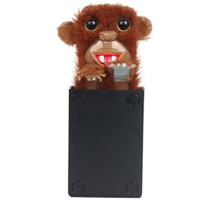 Innovative Sneekums Pet Pranksters Toys Tricky Funny Monkey Fur Plastic Pet Surprise Toys Pop Up Spoof Monkey Kids Novelty Gift
