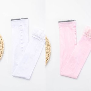 conjoined dance season comfortable ultra-thin breathable lace students Lace children's socks ' over-knee children's socks