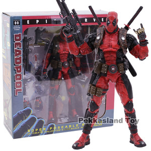 NECA Deadpool Ultimate Koleksiyoncunun 1/10 Ölçekli Epic Marvel PVC Action Figure Koleksiyon Model Oyuncak