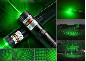 Ready to Ship! Rechargeable Multi PatternFull Set of high-Power Green Light Pointer Projector Pen