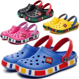 Junge Skandale Mädchen beiläufigen Loch-Schuh-Kind-Baby-Gummi-Clogs Crok Slipper Sommer-Strand-Sandale Fashion Kleinkind