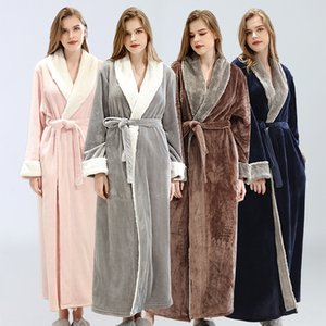 Japanese and Korean Women's Day Beauty Bathrobe pajamas bathrobe embroidered beauty salon health care center SPA pajamas nightgown
