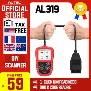 Autel AL319 OBD2 Code Reader DIY Car Scanner OBD Auto Diagnostic Tool Automotriz Read and Erase Code pk AD310 ELM327 CR319 ML329