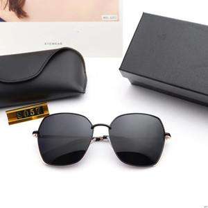 Оптовый-Sunglasses019 новых полигональные поляризованный солнцезащитные очки женских металлические personalnges мода очки BL8057 поляризованных линз сплава рама