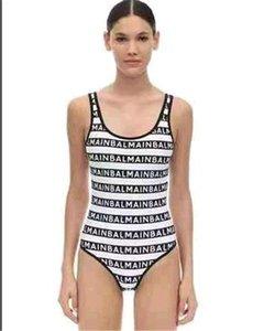 2020 Mode Explosion Modelle Eltern-Kind-Badeanzug der hohen Taille Mehrfarbenbikini Eltern-Kind gedruckt Badeanzug heißen Verkauf zweiteiligen Badeanzug