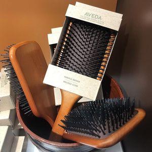 Massage-Kamm Gasbag Anti Static Haar Air Cushion Kamm Haarbürste Nasse Curly Detangle Haarbürste für Salon Friseur-Styling