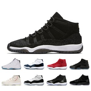 11 11s PRM Heiress classic basketball shoes Concord High Legend Blue Space Jams Prom Night 11 mens sports sneakers size 36-47