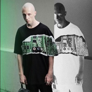 Casual Via skate hip hop T-shirt uomini donne vendita calda nuovo numero MMtee Circuito maniche corte high street Uomini donne di estate