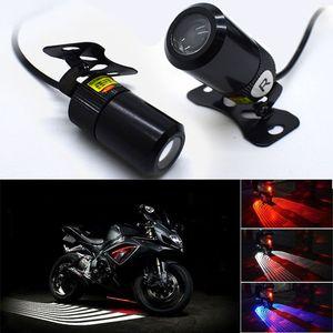 Moto Luci LED Sportello d'auto della luce di benvenuto Angel Wings telaio della lampada SUV Bianco Rosso Blu proiettore telaio Decor Luci Accessori