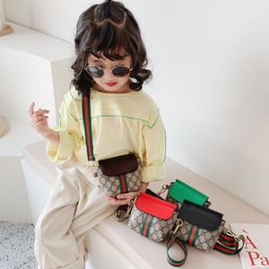 Yeni Çocuk Cüzdanlar Kız Mini Prenses Cüzdanlar Moda Klasik Desen Tasarımı Çocuk Zinciri Çapraz vücut Çanta Omuz Çantaları Şeker Çantası Çanta