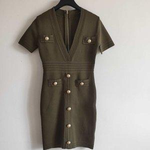 Designer Femmes Robes De Mode Solide Couleur D'été Femmes Robe Nouvelle Arrivée Femmes bref Robes 3 Couleurs Taille SL YF202281