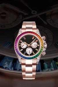 Nuevo actualizado 40mm relojes de lujo reloj de los hombres reloj de los hombres de lujo relojes para hombre relojes de diseño fino reloj de los hombres