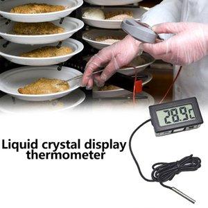 سيارة ميزان الحرارة سيارة الحلي الرقمي بتقنية الكريستال السائل على مدار الساعة سيارة-التصميم قياس درجة الحرارة متر للاسماك دبابات ثلاجة
