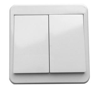100PCS 433MHZ 리모콘 벽 패널 스위치 버튼 1 2 3 1 2 3 CH 점착 RF 송신기 리모콘